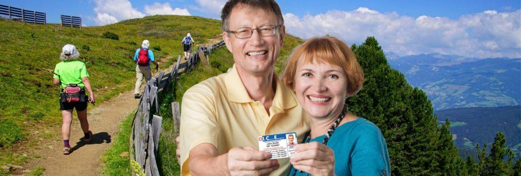 Diabetes identity card